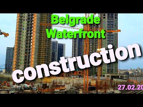BELGRADE WATERFRONT CONSTRUCTION@D J MASTER VLOGZILLA BEOGRAD - SRBIJA