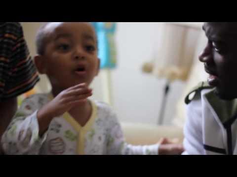 Khaliyl Iloyi rapping at 2 years old