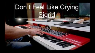 Don't Feel Like Crying - Sigrid | Piano Cover
