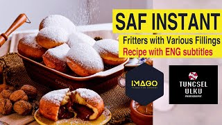 SAF INSTANT - Fritters with Various Fillings | Recipe