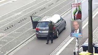 Sparatoria in Germania: almeno due morti ad Halle, arrestato un sospetto