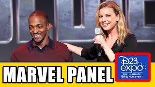 Disney+ MARVEL PANEL - Falcon & Winter Soldier, WandaVision, Loki, What If