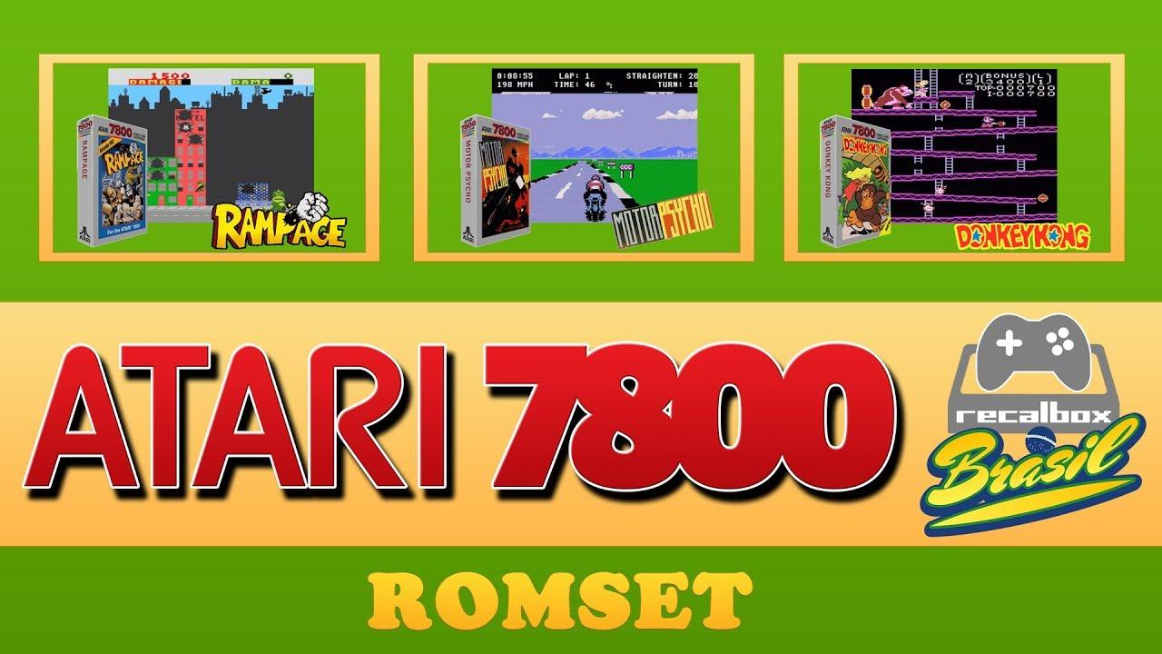 ROMS DE ATARI 7800 ( RCALBOX - BATOCERA - RETROPIE )