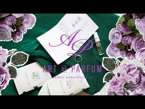 Art De Parfum: обзор пяти нишевых ароматов + ENG SUBS   Anisia Beauty