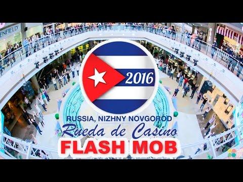 INTERNATIONAL SALSA RUEDA DE CASINO MULTI FLASHMOB 2016  NIZHNY NOVGOROD, RUSSIA
