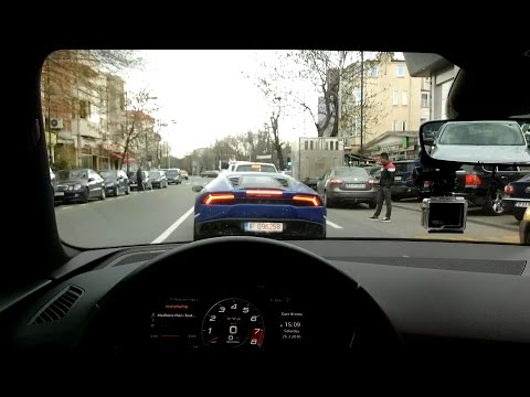Bucharest Supercars - Huracan / Aventador / M6 / F Type R & more!