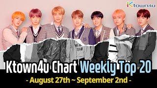 [Ktown4u Chart] Kpop Weekly TOP 20 (August 27th ~ September 2nd, 2018) #018