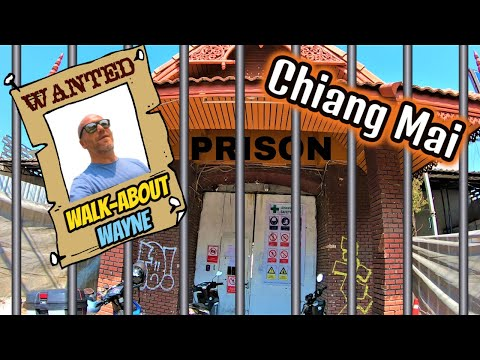 I Go to Prison & Learning Some Chiang Mai History | Thailand