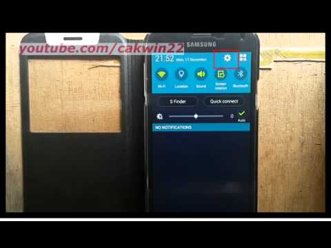 Samsung Galaxy S5 : How to display contacts by given name or family name