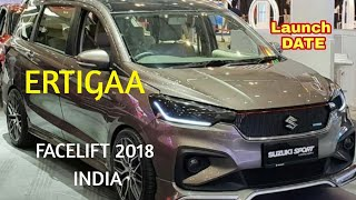 ERTIGA FACELIFT 2018 INDIA