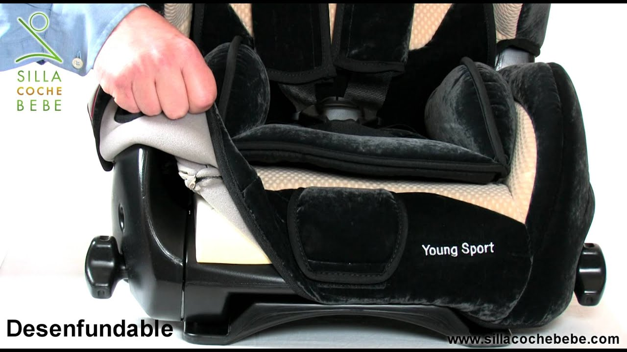 Recaro young sport revisamos la silla sillacochebebe for Sillas de coche con isofix