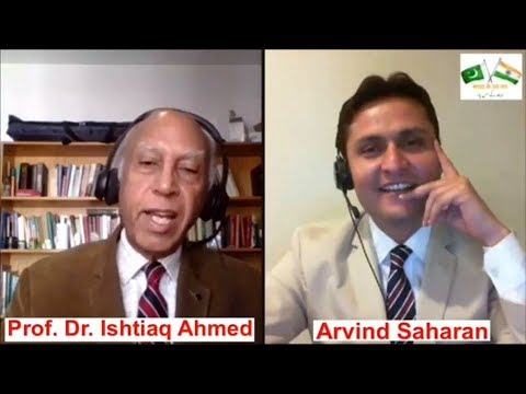 The Partition of India - Episode 5 - In conversation with Professor, Dr   Ishtiaq Ahmed