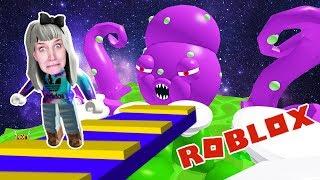 Roblox: AUS WELTALL ENTKOMMEN - Nina von riesen Krake auf fremden Planeten gefangen | Escape Space