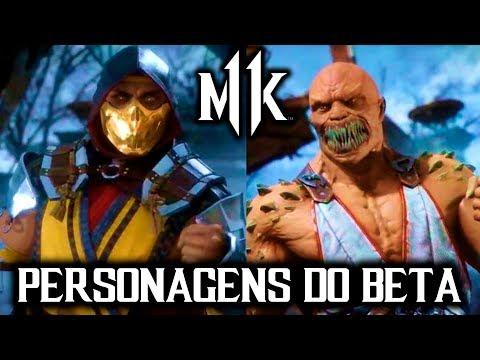 Mortal Kombat 11 - PERSONAGENS DO BETA REVELADOS thumbnail