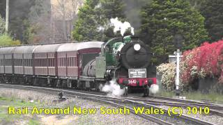 Rail Around New South Wales January 2011: NSW Rail Heritage 2010: A Year In Review PART 7
