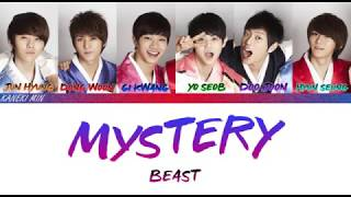Beast (비스트) -  Mystery 미스테리 (Color Coded Lyrics Eng/Rom/Han)