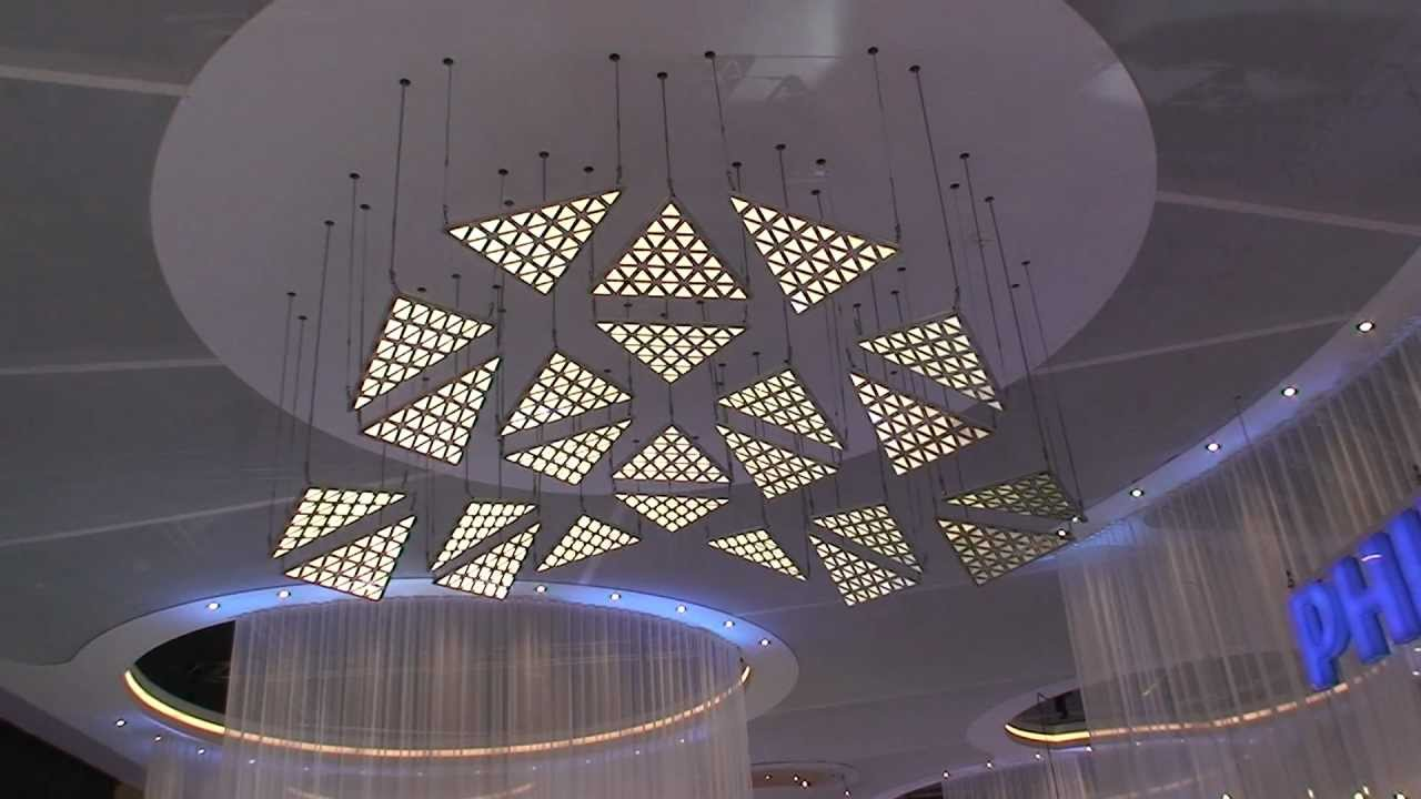 Living Sculpture Kinetic Light Installation With Dmx