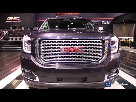 2016 GMC Yukon Denali - Exterior and Interior Walkaround - 2015 LA Auto Show