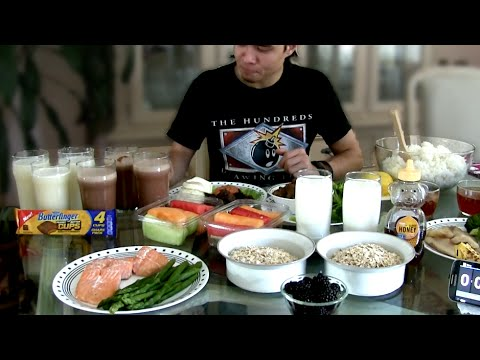 Manny Pacquiao Diet Challenge (7,000+ Calories)
