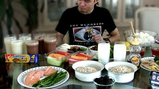 Manny Pacquiao Diet Challenge (7,000+ Calories)