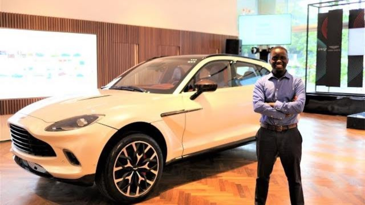 New Aston Martin Dbx Suv In South Africa Youtube