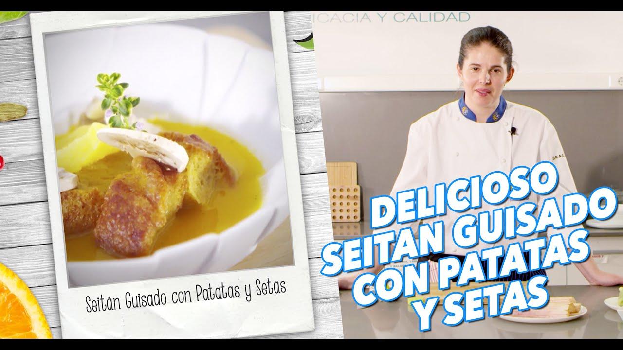Como Cocinar El Seitan | Como Cocinar Un Delicioso Seitan Con Elena Lucas Youtube