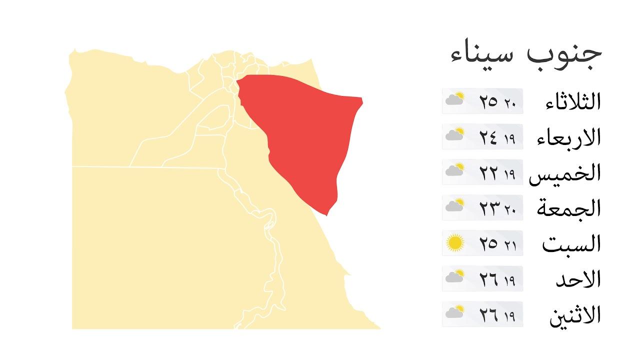 شاهد فيديو : الطقس في مصر خلال اسبوع بداية من الثلاثاء الموافق 13 نوفمبر