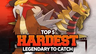 Top 5 Hardest Legendary Pokemon to Catch Feat. Twintendo