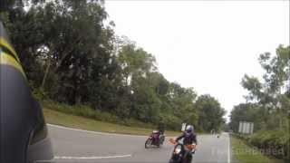 Good guy biker