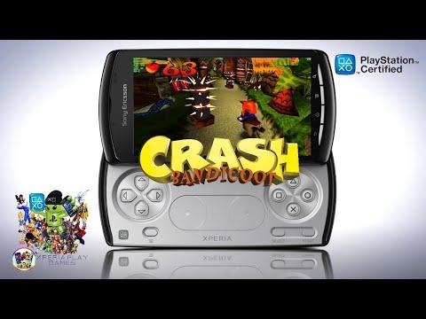 Crash Bandicoot/Ps1-Ps Pocket para Xperia Play (Official Xperia Play Games)