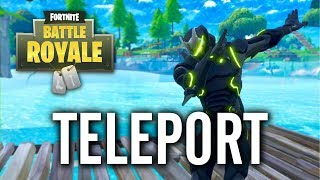 Fortnite - Teleport Under & Across the Map Shopping Cart Glitch