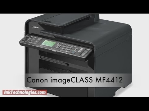CANON MF4412 SCANNER DRIVERS PC