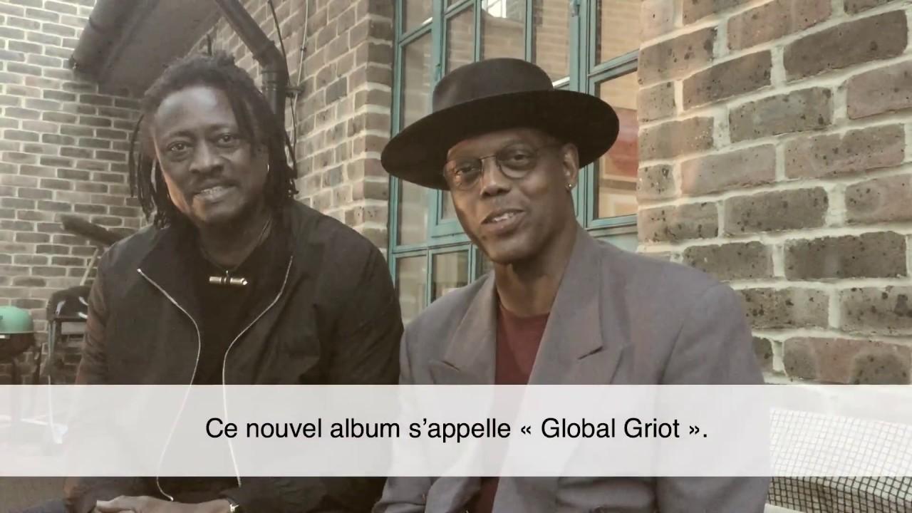 ERIC BIBB  - EPK Global Griot (french subtitles)