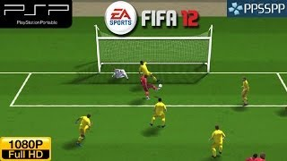 Fifa 12 - PSP Gameplay 1080p (PPSSPP)