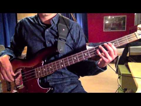 Simple Minds - Colours Fly And Catherine Wheel (Bass Cover) mp3