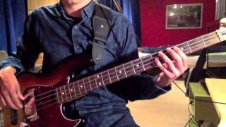 Simple Minds - Colours Fly And Catherine Wheel (Bass Cover)