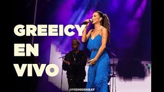 Greeicy y Mike Bahía en vivo   Premios HEAT 4a Edición