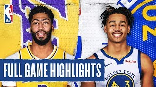 LAKERS at WARRIORS | FULL GAME HIGHLIGHTS |  February 27, 2020