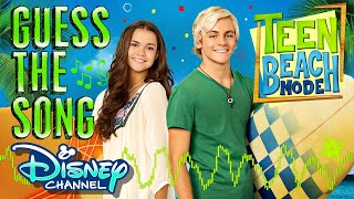 TEEN BEACH! Guess the Song! Game | Episode 10 | Disney Channel