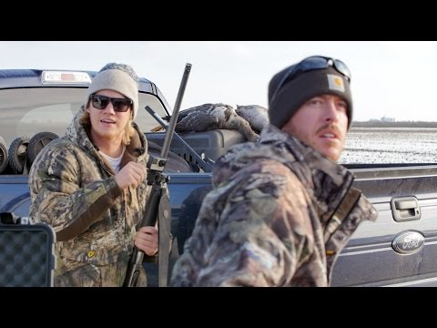 GIANT Flocks Of Birds! - Texas Goose Hunting Vlog