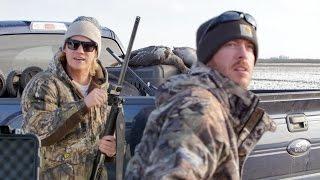 GIANT Flocks of Birds! - Texas Goose Hunting Vlog