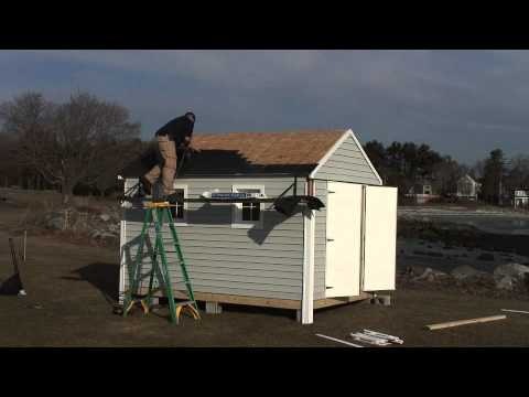 Sheds Usa Vinyl Installation Video