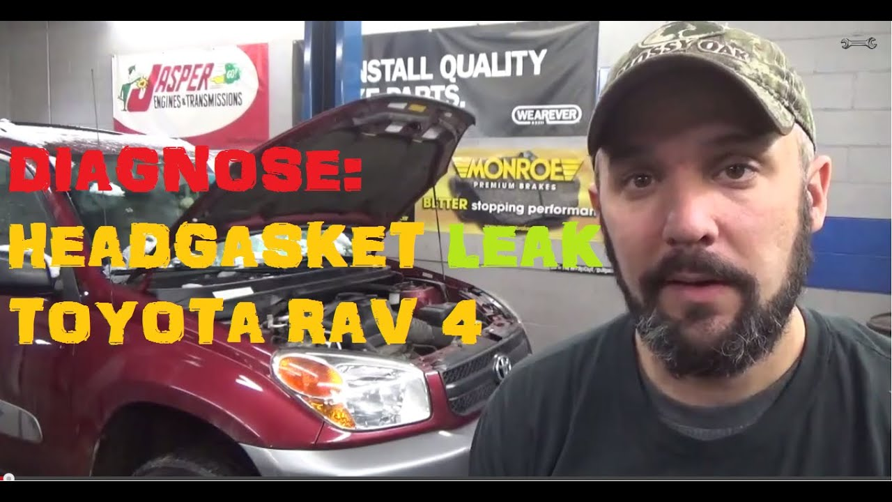 Remove Intake Manifold To Find Leaking Head Gasket Toyota Rav4 2000 Camry Engine Diagram