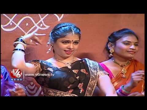 Kotha Kotha Choppulu Testha Song | Telangana Folk Songs | Dhoom Thadaka | V6 News