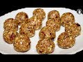Dry Fruits Ladoo - Sugar Free Healthy Low in calories - Dry Fruits Healthy Recipes