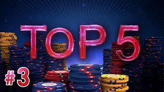 ♠♥♦♣ Top 5 : les mains de la semaine #3
