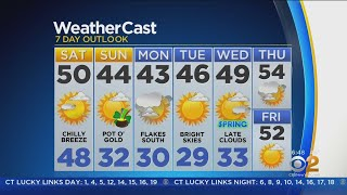 New York Weather: CBS2 3/16 Morning Forecast at 6AM