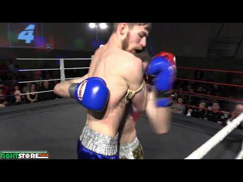 Diarmuid Dunne vs Jack Kelly - Evolution Fight Night