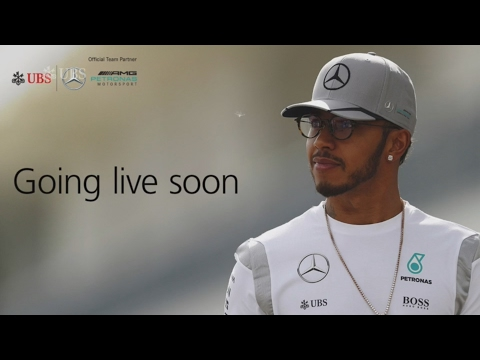 Lewis Hamilton - LIVE interview with Mercedes superstar 17/0