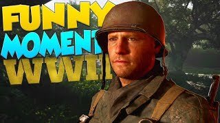 COD WW2 FUNNY MOMENTS - The FASTEST COD Player Ever, Voice Changers!